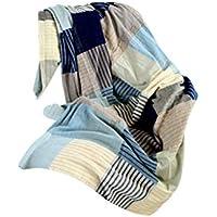 XDFCV Textiles,warmes Innenzubehör Winter Freizeit Nap Decke Quaste Sofa Handtuch Decke Dekoration Decke Jacquard