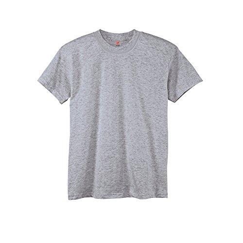 Jungen TAGLESS ComfortSoft Crewneck T-Shirt_Licht Stahl_M (Stahl-crewneck)