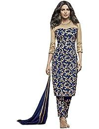 ETHNIC EMPORIUM Bollywood Priyanka chopra Vestido Fiesta Desgaste étnica  Traje Straight Salwar suit Boda especial vestido 58ce1f4b4cc