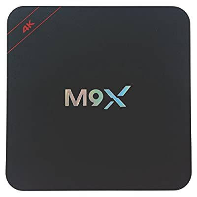 Tops Quad Core M9X Android 5.1 Smart TV Box Amlogic S905 with Bluetooth 3G RAM+32G ROM(3G+32G)