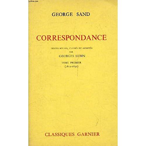 Correspondance (1812 - 1831) Tome I