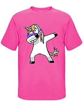 Unicorn T Shirt Donna Uomo Unisex Moda Camicia Maniche Corte Magliette Stampate Personalizzate Pullover Estate...