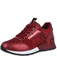 hot sale online 562cb c6726 Suchergebnis auf Amazon.de für: Glitzer - Rot / Sneaker ...
