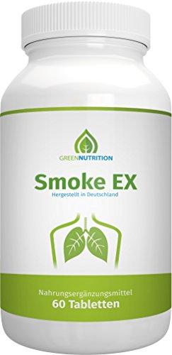 Green Nutrition | Smoke EX | 60 Kapseln für 1 Monat