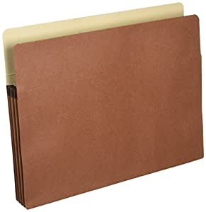 Sparco Products SPR95002 Accordion File Pocket-Letter-3-.50in. Expansion-Redrope