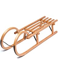 Ultrasport - Trineo de madera, 110 cm