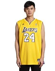 Los Angeles Lakers NBA adidas Mens Replica Jersey L Gold