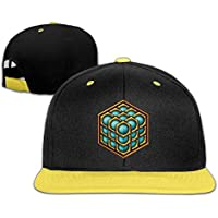 RGFJJE Cappellini Baseball Adjustable Baseball Youth cap Hip Hop Hats 3D Cube World Boy-Girls Copricapo