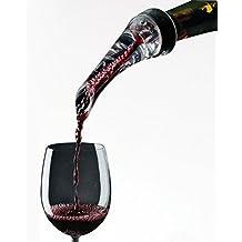 FosFun Aeratore per vino, beccuccio versatore per ventilazione per il tappo versatore per vino bianco e rosso, decantare vino con eleganza e semplicità