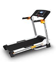 Capital Sports Pacemaker X20-X30 • Tapis de Course Professionnel • Programme d'entrainement personnalisé • Grande Surface de Course • Réglage de la Vitesse • Mesure du pouls • Ecran LCD Bleu