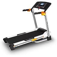 Capital Sports Pacemaker X20 nastro tapis roulant professionale (salva spazio, pieghevole, 4 hp, 16 km/h, 25 programmi di allenamento, cardiofrequenzimetro) - nero - Attrezzature Per Il Fitness Allenamento Tapis Roulant