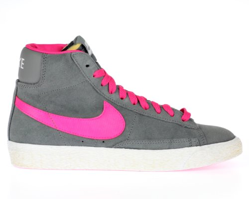 Nike  Blazer Mid Vintage (GS), Baskets hautes fille Gris - Gris