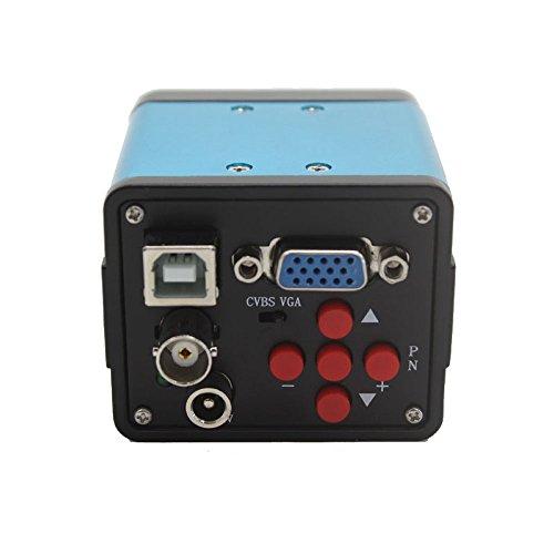 HD 1080p 2.0MP microscopio industriale fotocamera VGA USB uscita AV tre interfaccia video camera no SMEAR PCB rilevazione