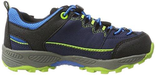 Lico Jungen Griffin Low Trekking-& Wanderhalbschuhe Blau (Marine/Blau/Lemon)