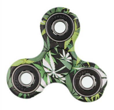 Xinruifeng Fidget Spinner Giocattolo EDC Giocattoli Stress Tri-spinner ADHD, ansia sofferenza adulti e bambini . Fidget Spinner Antistress(Bambus Farbe) - 2