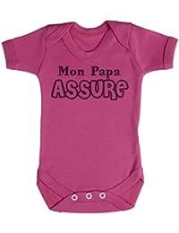 TRS - Mon Papa Assure Body bébé 100% Coton