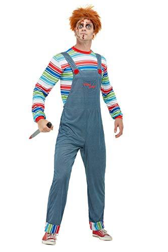 Smiffys Chucky Herren-Kostüm (Chucky Und Seine Braut Kostüm)