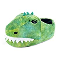 Lora Dora Boys Novelty 3D Plush Slippers Dinosaur