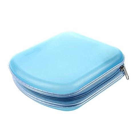 40 Disc CD DVD VCD DJ Storage Media Holder Sleeve Case Hard Box Wallet Carry Bag