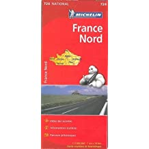 Carte France Nord Michelin