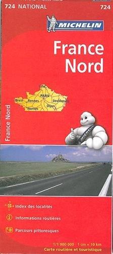 Carte France Nord Michelin par Collectif Michelin