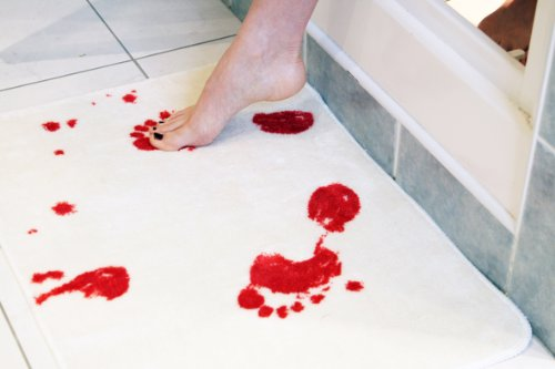 Bloodbath Bath Mat - Blood Bath Mat