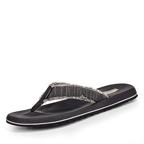 Skechers Pantolette, Groesse 43, schwarz