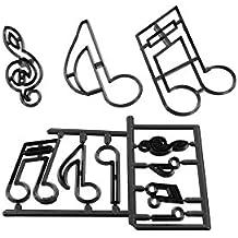 Patchwork Cutter - Extra große Musiknoten
