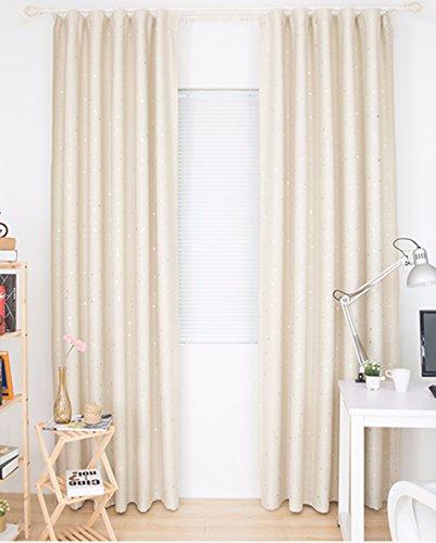 Qpggp tende giardino camera da letto tende da parete tende da sole soggiorno spaziosa spaziosa camera da letto camera da letto balcone camera per bambini, d-200 x 270 cm (l x p) × 2
