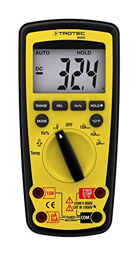 TROTEC BE50 Digital Multimeter
