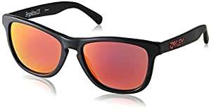 Oakley Men's 2043 Sunglasses, Matte Black, 56