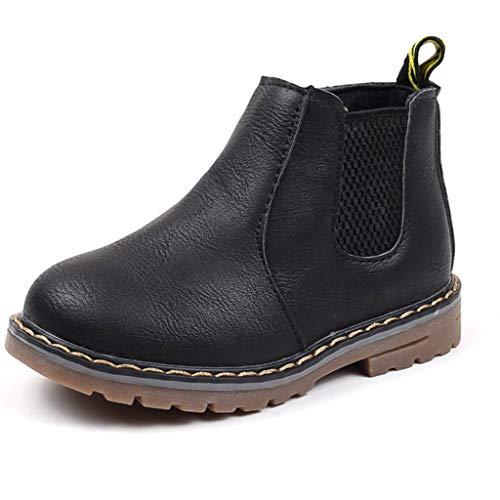 DoGeek Winter Boots Girl Boots Girl Winter Girl Child Winter Fur Snow Boots Warm Shoes
