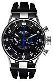 Locman orologio uomo cronografo automatico Montecristo 0514V03-00BKSSIK