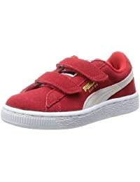 Puma Suede 2 Straps Inf, Sneaker Basse Unisex – Bambini