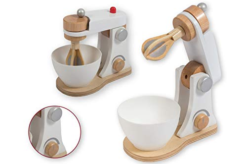 Smart Planet - Holz Mixer für die Kinderküche Kinder Spielzeug Küche Kochen Lernen- Kaufmannsladen