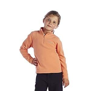 Regatta Hotshot Kids' Half Zip Fleece - Size: 3-4 Years, Color: Peach Melba