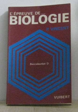 BAC D BIOLOGIE