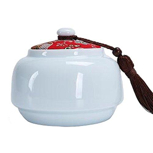 Chinesische Tee / Kaffee Container Keramik Topf S??igkeiten / Snacks / Cookies Topf Lagerung Flaschen NO.05