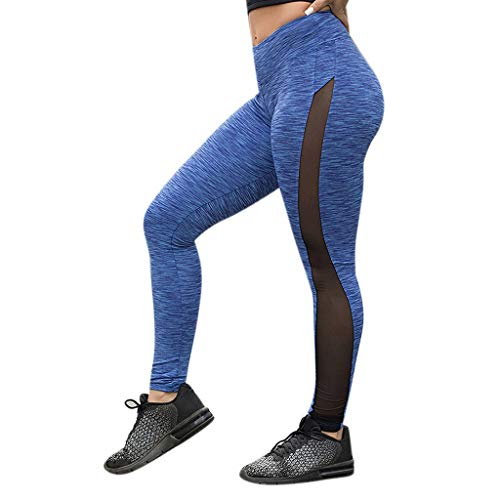 Damen Sport Leggings Leggings Yoga Fitness Hose Lange Sporthose Stretch Workout Fitness Jogginghose