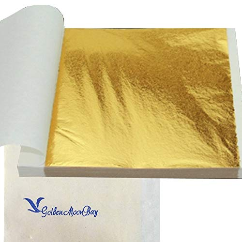 Goldenmoonbay Gold Imitation Leaf Sheet 3.2