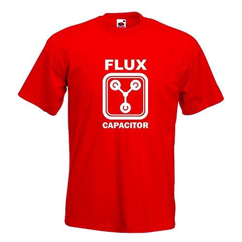 KIWISTAR - Flux Capacitor T-Shirt in 15 verschiedenen Farben - Herren  Funshirt bedruckt Design