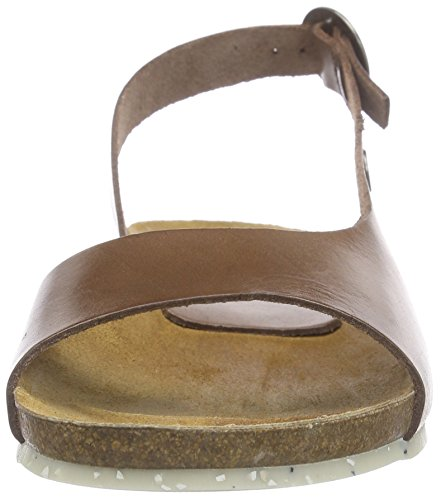 Jonny's - Meda, Scarpe col tacco con cinturino a T Donna Marrone (Braun (topo))