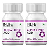 Inlife Alpha Lipoic Acid 300mg Supplement (60 Capsules) - Pack Of 3