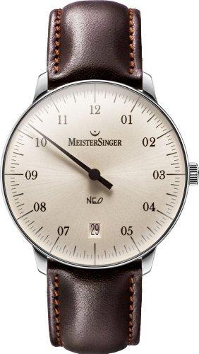 Meister Singer Neo Orologio unisex Design senza tempo