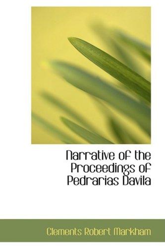 Narrative of the Proceedings of Pedrarias Davila