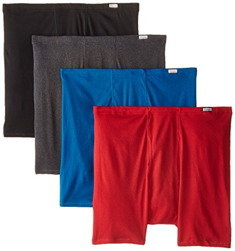 Hanes Red Label Men's FreshIQComfortsoft Extended Sizes Boxer Briefs (4-Pack)