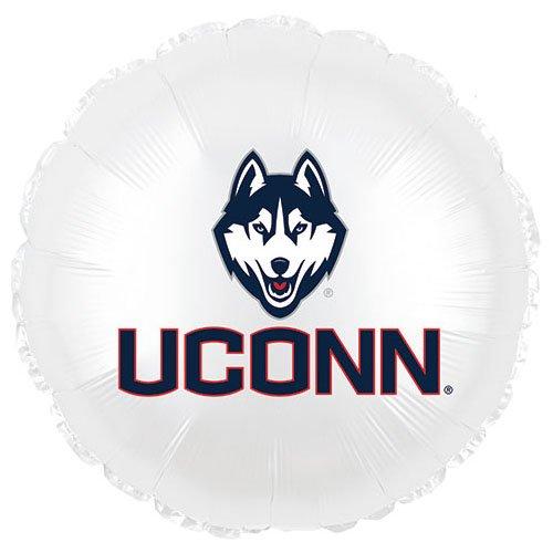 CTI 115466HV Folienballon University of Connecticut Uconn Huskies, 43,2 cm, mehrfarbig