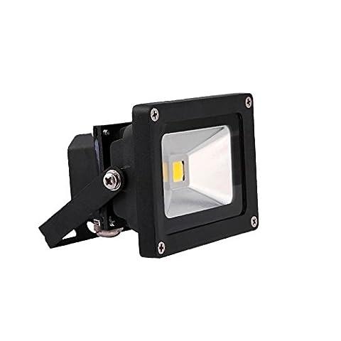 VINGO® 10W LED Fluter Wasserdicht Flutlicht Kaltweiß Aussen Strahler IP65 SMD leuchtmittel