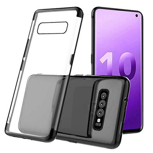 XNBZW Für Samsung S10 Plus 6,3 Zoll klarer Fall stoßsicherer TPU-Gel-Schutz(S10 Plus...