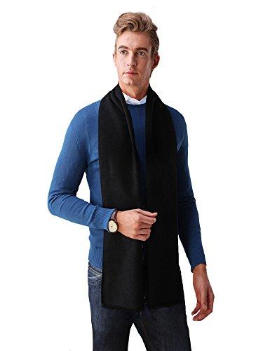 JIN - Echarpe - Homme multicolore Mehrfarbig Taille Unique Schwarz